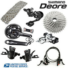 Shimano Deore M610 Hydraulic Disc Brake Groupset Group set 3x10-speed