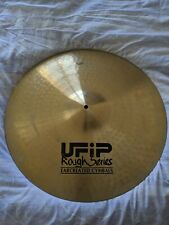 """UFIP 21"""" Rough Series Ride Cymbal 3360g"""