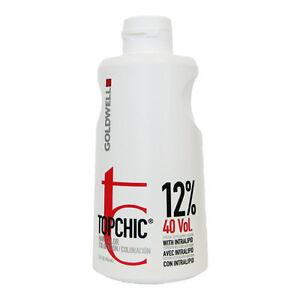 Goldwell Topchic Lotion 12% 40 Volume Developer 32 oz | 946 ml