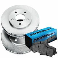 For Nissan Xterra Frontier Front Rear  Drill Slot Brake Rotors+Semi-Met Pads