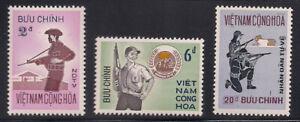 Vietnam-S.   1972   Sc # 428-30   MNH    OG   (1-128)