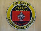 PARTICIPANT LAOTIAN TRUCK ROUNDUP ON THE TRAIL Machine Embroidered Patch