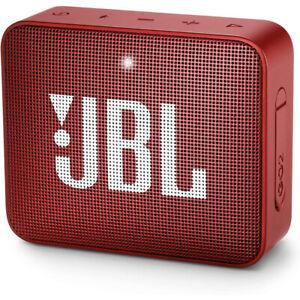 JBL GO2 Bluetooth Wireless Portable Speaker - Red