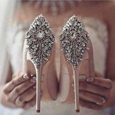 Wedding Women Shoes Heels Accessories Beaded Rhinestone Motif Applique Craft