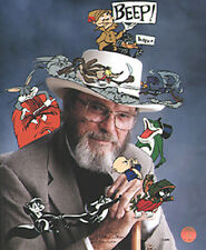 "Chuck Jones Signed ""In Character"" 1997 Warner Brothers Limited Edition of 485"