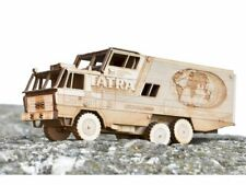 Wooden Model Famous T815 Tatra Around the World