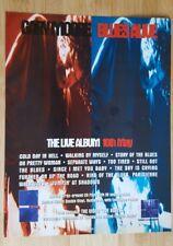 Original  gary moore magazine print ad for album blues alive . App23x29cm