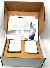 TRENDnet TPL-420E2K 1200 Mbps AV2 Powerline Gigabit Ethernet Adapter - Twin Pack