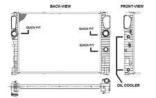 NRF Radiador, refrigeración del motor MERCEDES-BENZ CLASE E CLS 53422