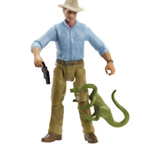 NEW MATTEL JURASSIC WORLD PARK LEGACY COLLECTION DR ALAN GRANT FIGURE SET RARE