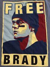 Free Tom Brady T-shirt Mens XXL 2XL Tee New England Patriots Deflategate A06