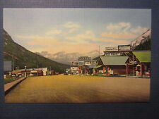 Old Vintage 1940's Red Lodge Cooke City Road to Yellowstone - POSTCARD - Montana
