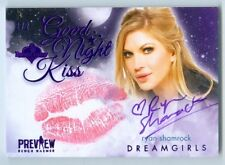 "RYAN SHAMROCK ""KISS AUTOGRAPH CARD #2/2"" BENCHWARMER DREAMGIRLS PREVIEW 2016"