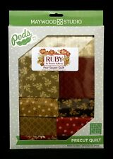 Ruby Pre-Cut Four Square Quilt Kit Maywood Studios PODS