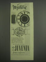 1953 Juvenia Watches Ad - Mystere