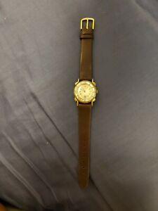 Rare Vintage Helbros Monte Cristo Diamonds Manual Wind Men's Watch