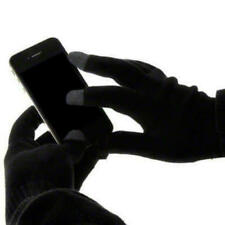 Black Men Ladies Winter Touch Screen Gloves for Apple iPhone 7 / 7 Plus / 6 / 6S