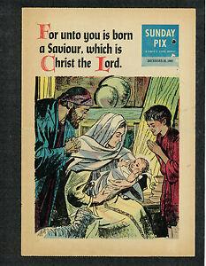 SUNDAY PIX VOL.12 -- 1960 -- # 52 (DECEMBER 25, 1960) -- VG