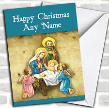 Niño Jesús Navidad Personalizado Tarjeta Personalizada