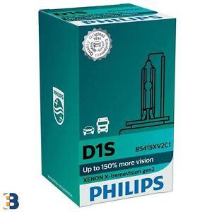Philips D1S X-treme Vision 150% mehr Ansicht Xenon Glühbirnen 85415XV2C1 Single