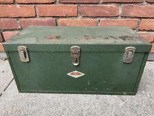 S K Vintage Sk Sherman Klove Mechanic Tool Box 2 Drawer Chest Chicago Ill Usa