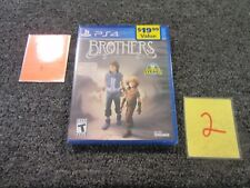 PS4 SONY PLAYSTATION VIDEO GAME BROTHERS A TALE OF TWO SONS NEW SEALED