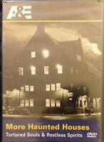 More Haunted Houses - Tortured Souls  Restless Spirits DVD, 2008 RARE NEW fr/shp