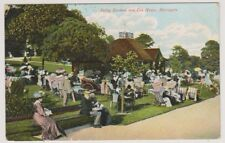 Yorkshire (North) postcard - Valley Gardens & Tea House, Harrogate - P/U