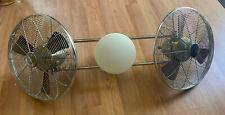 "Minka-Aire F602-BN/CH Elemental Gyro 42"" LED Light Ceiling Fan Used Works Great!"