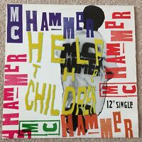 "MC HAMMER - HELP THE CHILDREN - 12"" SINGLE  VINYL"
