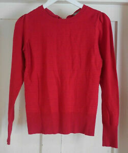 Oasis Womans Red Jumper size XS