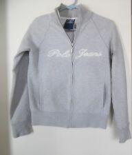Polo Jeans Ralph Lauren Femmes ENTIÈREMENT ZIPPABLE Veste Sweatshirt, Gris, c691bd1543ea