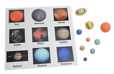 Solar System Match Game- Space Planets - Learning Toy - Science Discovery Toy