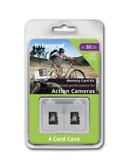 Paquete Doble 32gb CLASE 10 UHS-I U3 Micro Sdhc Tarjetas Para Deportes Acción