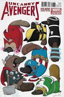 Uncanny Avengers Comic 18 Cover B Animal Variant Katie Cook 2014 Rick Remender