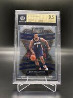 2019/20 PANINI SELECT #1 ZION WILLIAMSON BGS 9.5 TRUE GEM MINT W/10 CENTERING