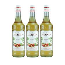 Monin Sirup Haselnuss, 1,0L, 3er Pack