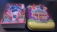 Match Attax Extra 2015/16 Estaño + 60 Tarjetas + Lukaku bronce edición limitada 15 16