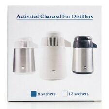 Activated Charcoal filter sachets (12 pack) for Water Distillers