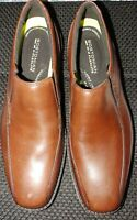 Bostonian  Bolton Free 21938 Leather Brown Men Slip On Loafer Size 10 M flexlite
