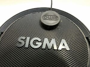 Sigma 72mm Lens Front Cap snap on with keeper string type for APO