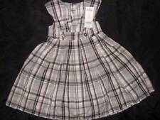 NWT Gymboree TRES FABULOUS gray pink plaid holiday dressy dress ~ girls 3 3T