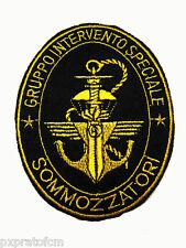 Patch GIS Sommozzatori Gruppo Intervento Speciale Carabinieri Toppa Nera Militar