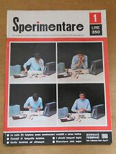 789D - SPERIMENTARE N. 1 1968