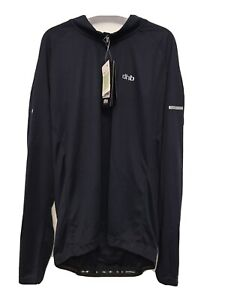 DHB Long Sleeve Cycling Jersey Navy Blue Size M