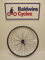 "27.5"" (650B) FRONT Mountain Bike Wheel Double Wall BLACK Rim - Quick Release"