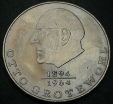 GERMANY (DDR) 20 Mark 1973 A - Copper/Nickel - Otto Grotewohl - VF/XF - 1778