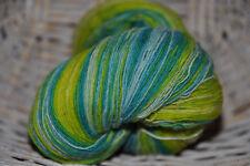 100% Schurwolle Tücherwolle Schafwolle Lace Strickgarn handgefärbt *158* LL 700m