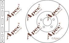 FRONT BRAKE DISCS (PAIR) FOR JAGUAR XJ GENUINE APEC DSK2623