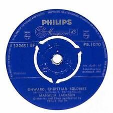 "Mahalia Jackson - Onward, Christian Soldiers - 7"" Record Single"